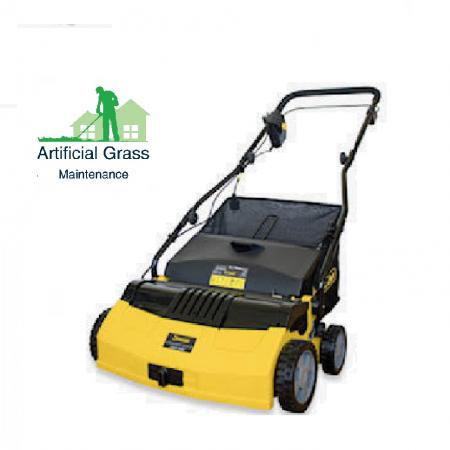 Agm 141wuk Cordless Power Brush Sweeper Artificial Grass Maintenance